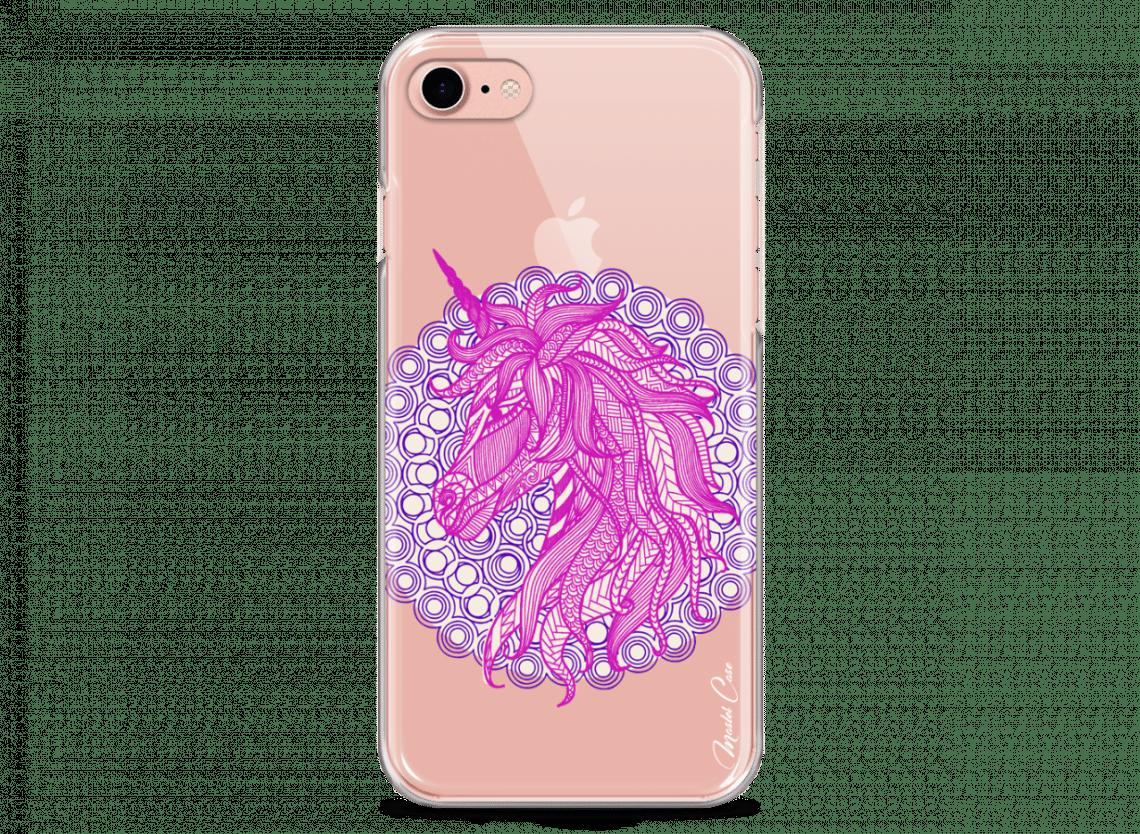 coque licorne rose