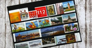la collection de timbres pas cher